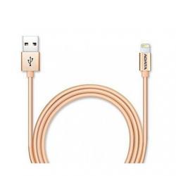 CABLE LIGHTING+MICRO USB (B) A USB ADATA 1M DORADO - Imagen 1