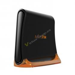 Mikrotik hAP mini 100Mbit/s Negro, Latón punto de acceso WLAN - Imagen 1
