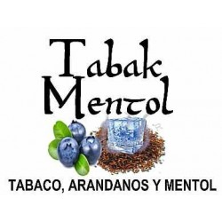 TABAK MENTHOL 10ml.