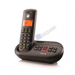 TELEFONO INALAMBRICO DECT DIGITAL MOTOROLA E201 NEGR - Imagen 1