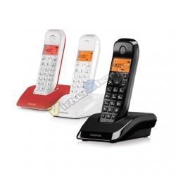 TELEF. INALAMBRICO DECT DIGITAL MOTOROLA S1203TRIO BLANCO N - Imagen 1