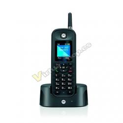 TELEF. INALAMBRICO DECT DIGITAL MOTOROLA O201 NEGRO - Imagen 1
