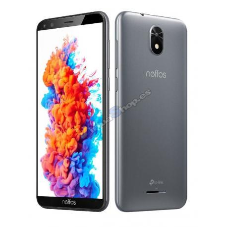 "SMARTPHONE TP-LINK NEFFOS C5 PLUS 5"" 1/ 8GB GRIS F2MPX T5MPX 3G - Imagen 1"