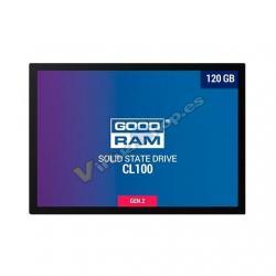 DISCO DURO 2.5 SSD 120GB SATA3 GOODRAM CL100 GEN.2 - Imagen 1