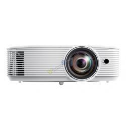 PROYECTOR OPTOMA HOME CINEMA H116ST HD READY 3600L BLANCO HDMI VGA USB FULL 3D - Imagen 1