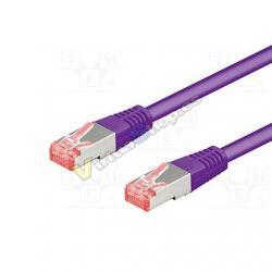 CABLE RED S/FTP PIMF CAT6 RJ45 GOOBAY 1.5M - Imagen 1
