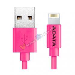 CABLE LIGHTNING A USB(A) ADATA ROSADO - Imagen 1