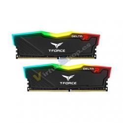 MODULO MEMORIA RAM DDR4 2X8GB PC3000 TEAMGROUP TFORCE DELTA - Imagen 1