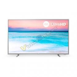 TELEVISIÓN LED 43 PHILIPS 43PUS6554 4K UHD SAPHI PLATA - Imagen 1