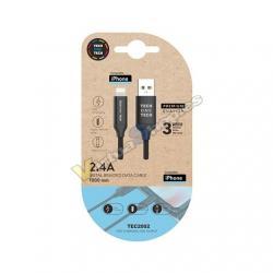 CABLE MICRO USB TECH ONE TECH PARA APPLE 1M - Imagen 1