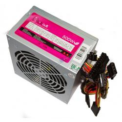 FUENTE ATX 500W L-LINK LL-PS-500 20/24 12x12 SATA