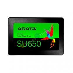 DISCO DURO 2.5 SSD 240GB SATA3 ADATA SU650 3D NAND NEGRO - Imagen 1