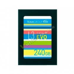 HD 2.5 SSD 240GB SATA3 TEAMGROUP L3 EVO R: 530 MB/s W: 47 - Imagen 1