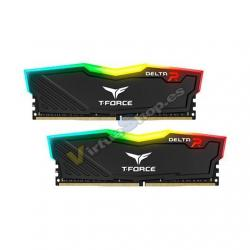 MODULO MEMORIA RAM DDR4 8GB(2X4GB) PC2666 TEAMGROUP DELTA R - Imagen 1