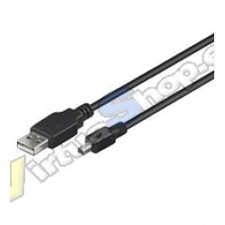 CABLE USB AM A MINI USB TIPO B 4 PIN 1.8M