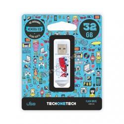 PENDRIVE 32GB TECH ONE TECH CAMPER VAN-VAN - Imagen 1