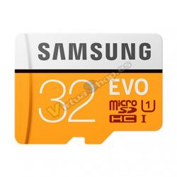 TARJETA DE MEMORIA MICRO SDHC 32GB SAMSUNG EVO UHS-I (U1)+ - Imagen 1