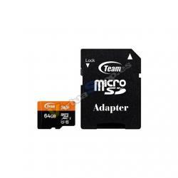 MEM MICRO SDXC 64GB TEAMGROUP UHS-I/U CL10 / ADAPTADOR/ R - Imagen 1