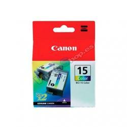 CARTUCHO ORIG CANON BCI-15 COLOR PACK 2 - Imagen 1