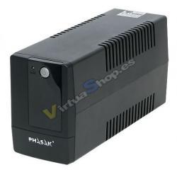 SAI/UPS 600VA PHASAK INTERACT AVR 2XSCHUKO PH9406 - Imagen 1