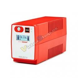 SAI/UPS 850VA SALICRU SPS 850 SOHO+ 2XSCHUKO INTERACT - Imagen 1
