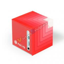 ALTAVOCES 1.0 NGS ROLLER CUBE RED BLUETOOTH - Imagen 1