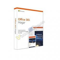 SOFTWARE MICROSOFT OFFICE 365 HOGAR (FPP) - Imagen 1