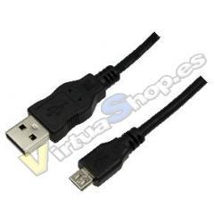 CABLE USB(A) 2.0 A MICRO USB(B) 2.0 LOGILINK 3M - Imagen 1