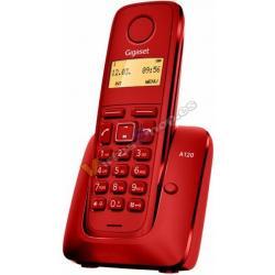 TELEFONO INALAMBRICO DECT DIGITAL GIGASET A120 ROJO - Imagen 1