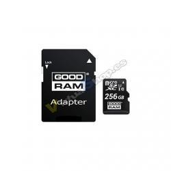 MEM MICRO SD 256GB GOODRAM M1AA CL10 UHS-I+ADAPT - Imagen 1