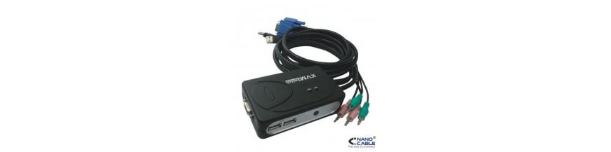 USB Hubs-y KVM Switch